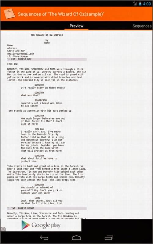 how to write screenplays