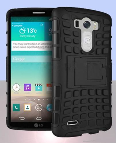 Ecco LG G3 mostrato con una cover che mostra il suo design