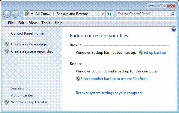 Safest Way To Back Up And Restore Data In Windows 7 & 8 1