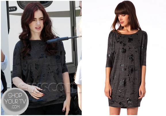 The Mortal Instruments: City of Bones Clary's Distressed Sweater
