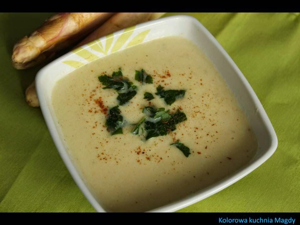 Kolorowa Kuchnia Magdy Zupa Krem Ze Szparagow