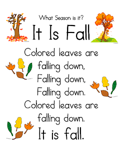 """It Is Fall"" Song"