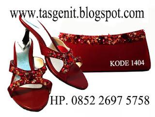 tas pesta, sandal pesta, sepatu pesta, tas pesta online