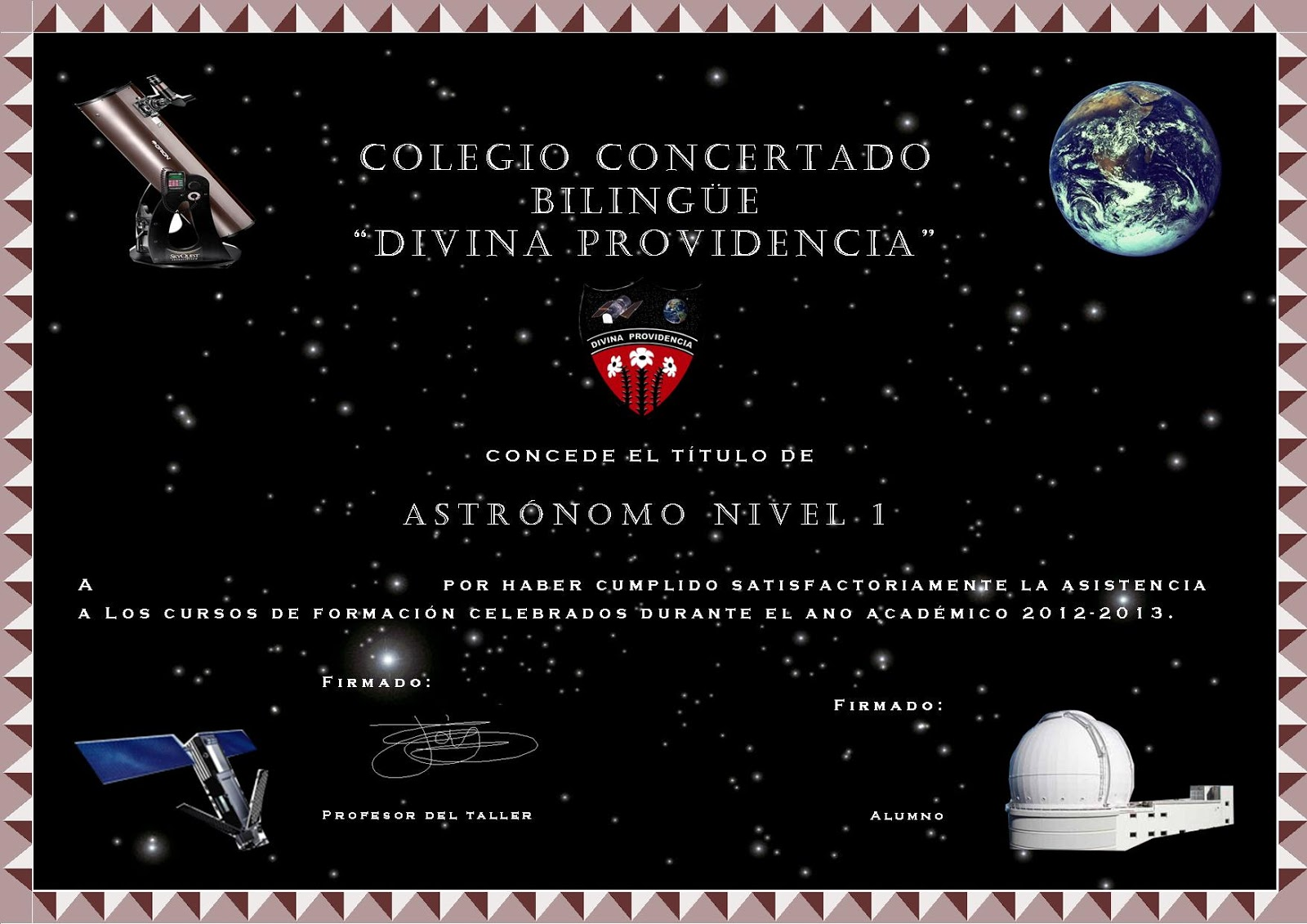 Diploma astronomia