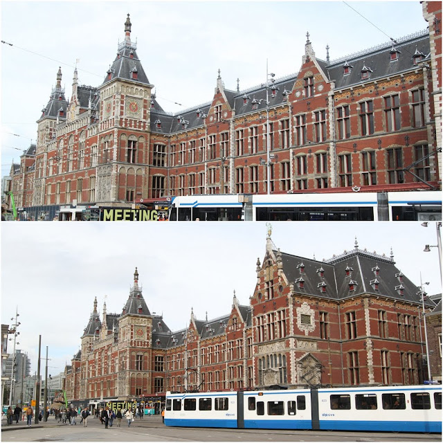 Amsterdam Centraal Station in Amsterdam, Netherlands