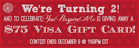 $75 VISA Prepaid VISA Giftcard #Giveaway Open to Canada & USA, ends December 9 @ 11:59pm