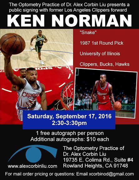 Ken Norman Signing!
