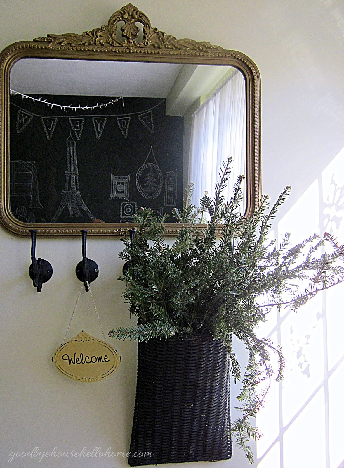Goodbye, house. hello, home! blog : how to create a foyer (when ...