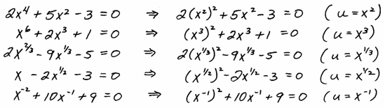 OpenAlgebra usubstitution – Factoring Quadratic Trinomials Worksheet