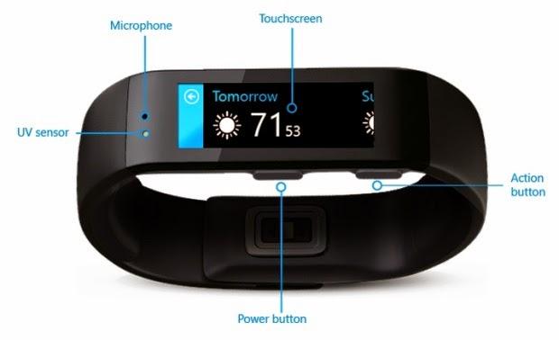 مايكروسوفت تكشف عن سوارها الذكي الجديد Microsoft Band