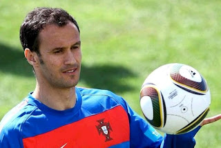 Ricardo Carvalho with Portugal National Team