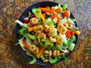 A lovely Prawn Salad