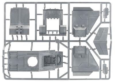 Matriz 1 Cañonera Stormraven de los Marines Espaciales