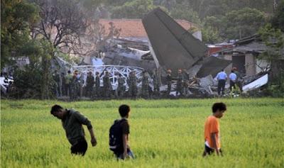Kecelakaan Pesawat Fokker 27 TNI AU