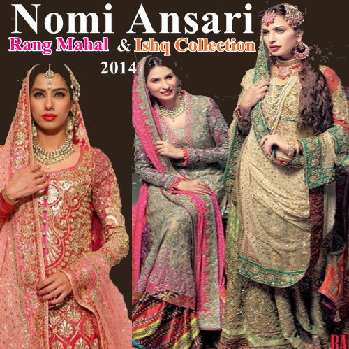 Nomi Ansari Bridal Collection 2014