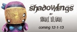 Shadowlings resin mini figure series by Shadoe Delgado