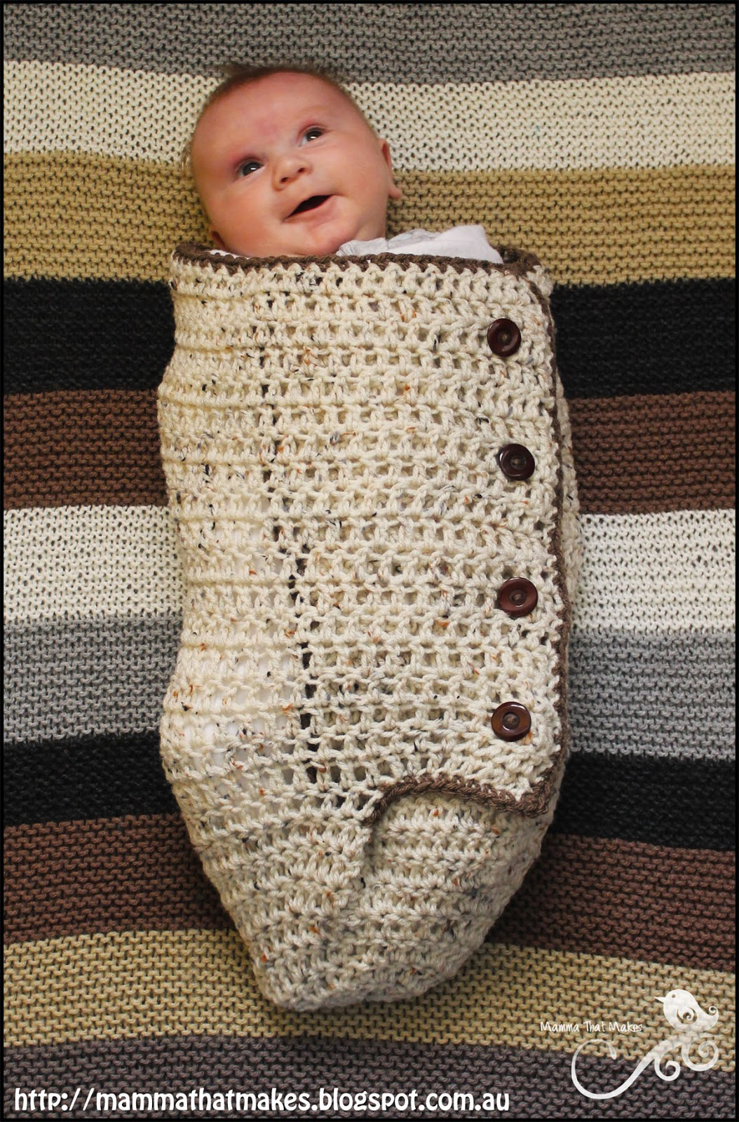 Mamma That Makes: Snuggle Cuddle Cocoon Resized - Free Newborn ...