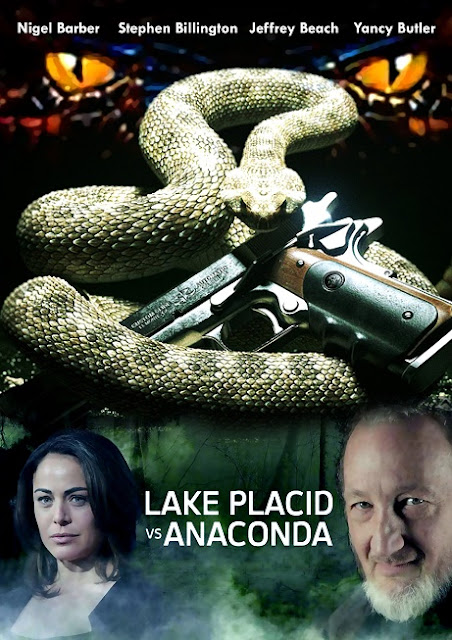 Lake Placid vs Anaconda 2015 DVDRip 400MB Subtitle Indonesia