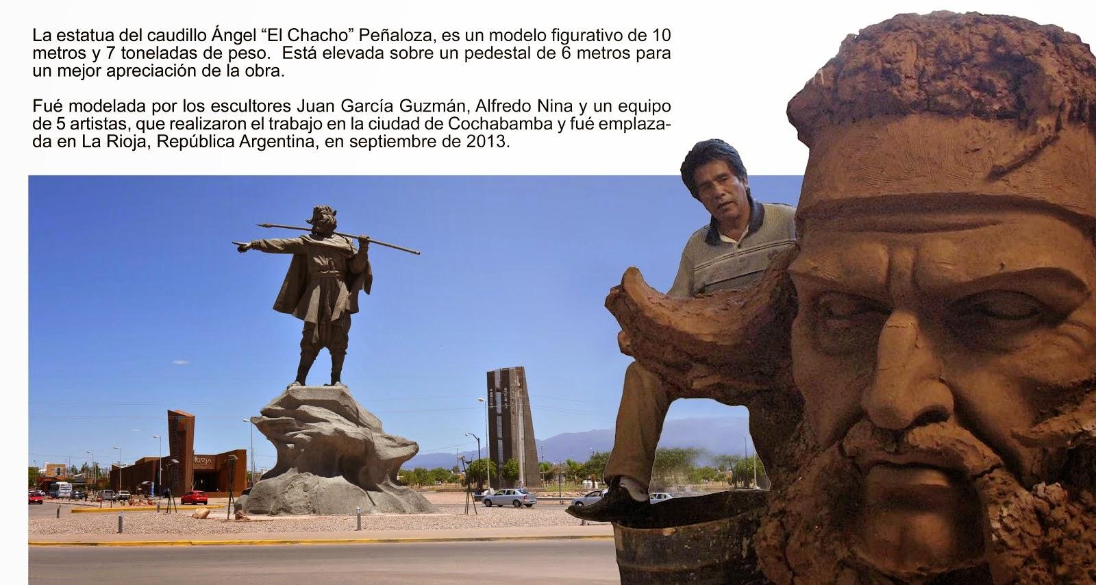 El monumento al Chacho Peñaloza