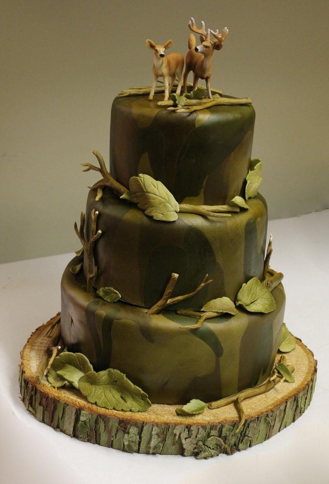 Custom Cakes A Hunter S Dream Cake