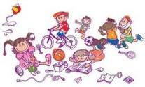 Crianças brincando e aprendendo no cotidiano