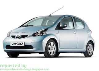 Harga dan Spesifikasi Toyota Aygo / Agya Terbaru 2012