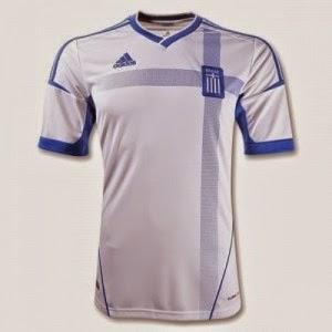 Kostum Timnas Yunani Piala Dunia 2014