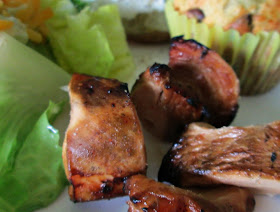 the rehomesteaders honey lime chicken skewers