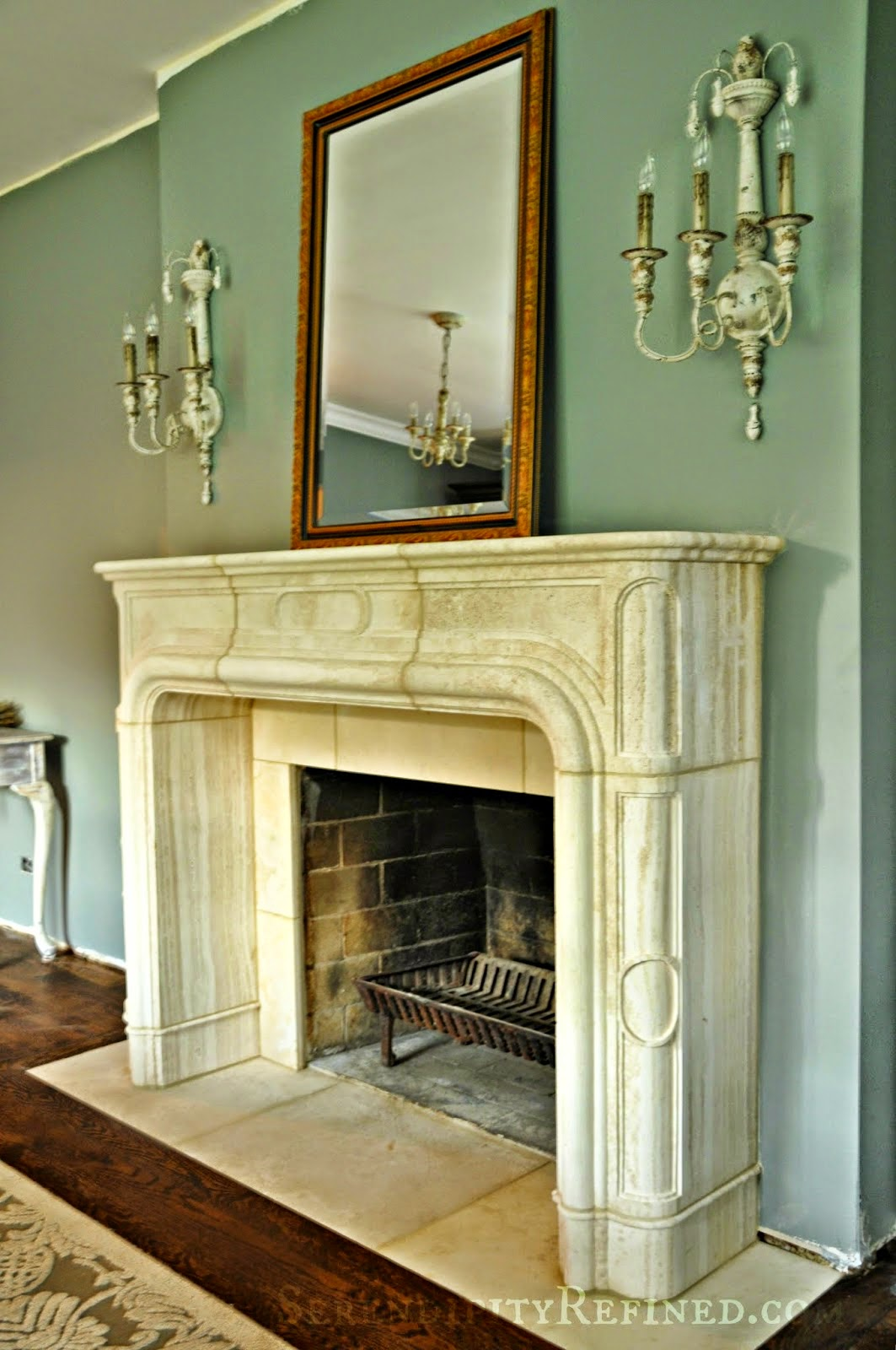 Funky Decorating Ideas For Fireplace Mantels And Walls Frieze - All ...