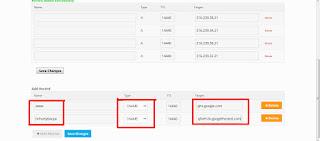 Cara Daftar Blogspot Ke Domain TLD Gratis