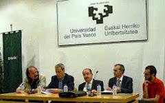 PRESENTACIÓN 'LÁZARO VALBUENA' EN BILBAO