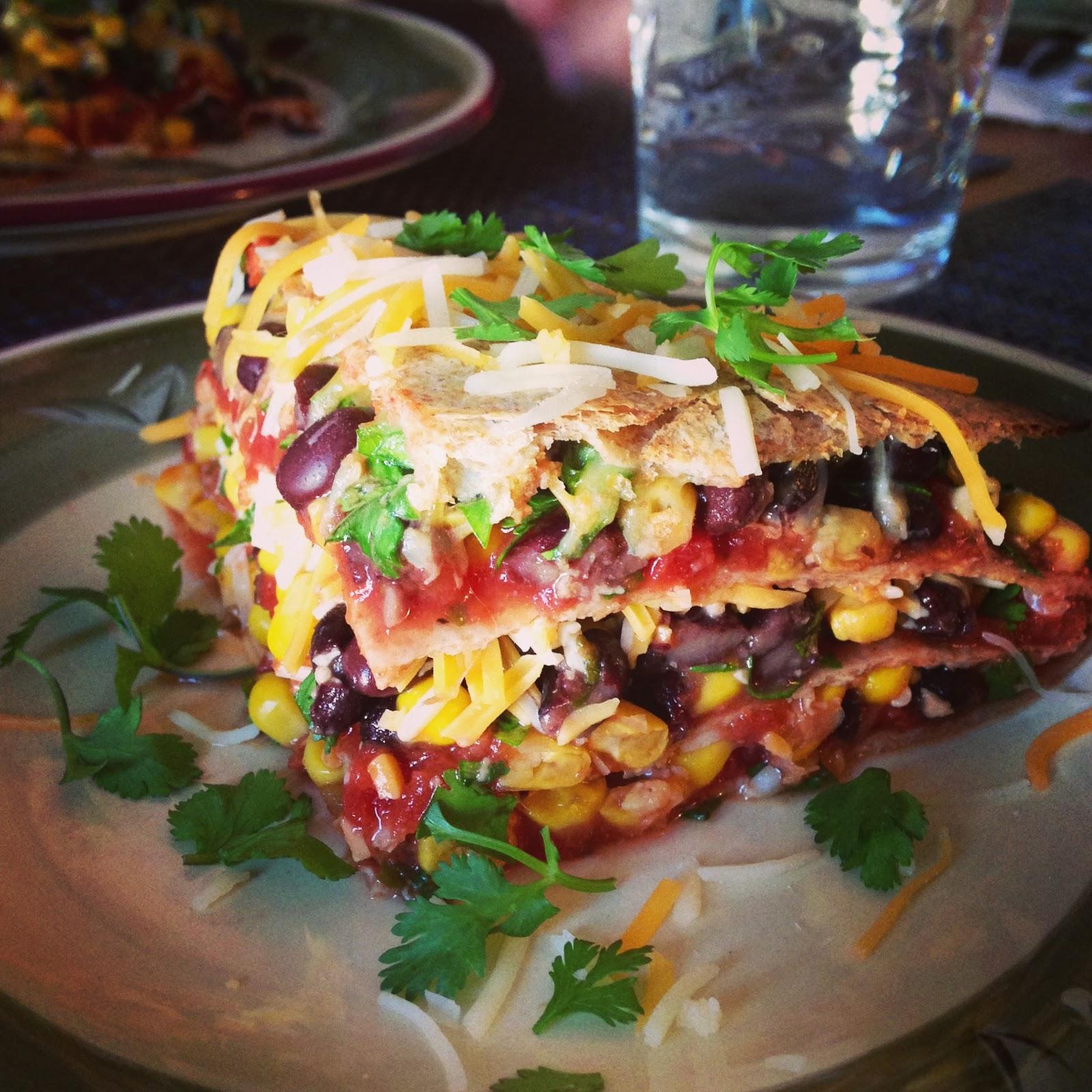 Beyond Borscht: Vegetarian Tortilla Pie