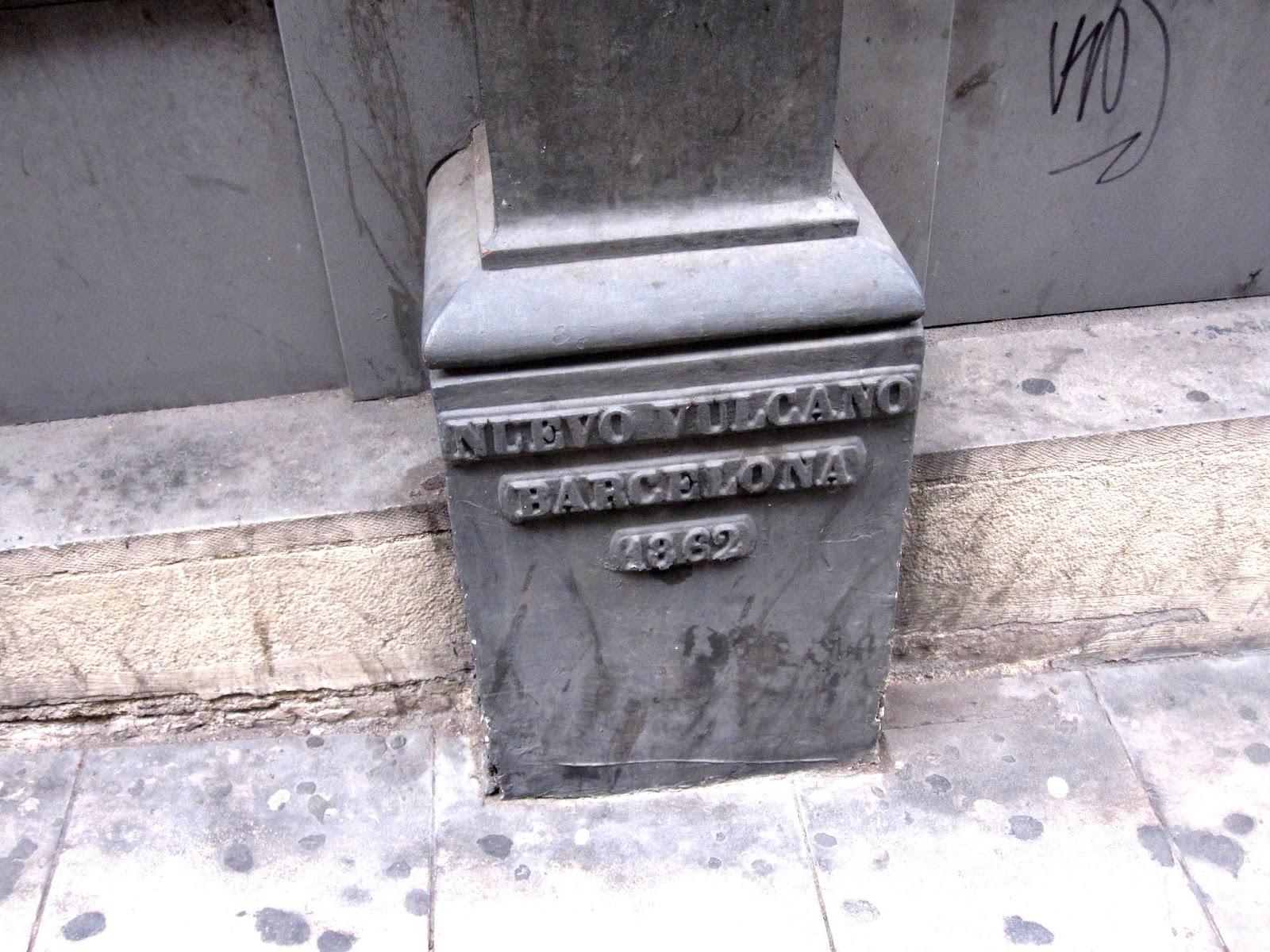 Tot barcelona temps era temps nuevo vulcano - Calle princesa barcelona ...