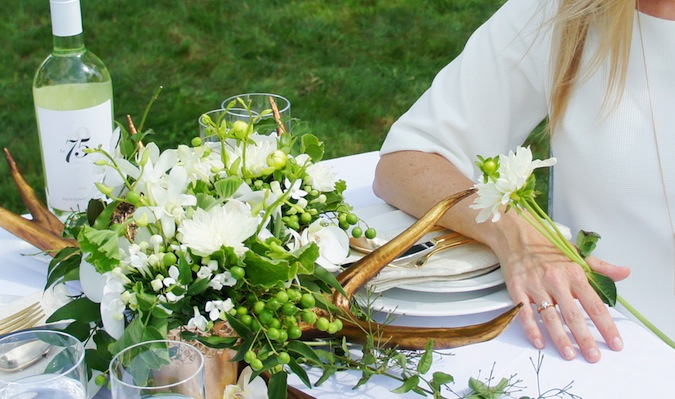Diner en Blanc table inspiration