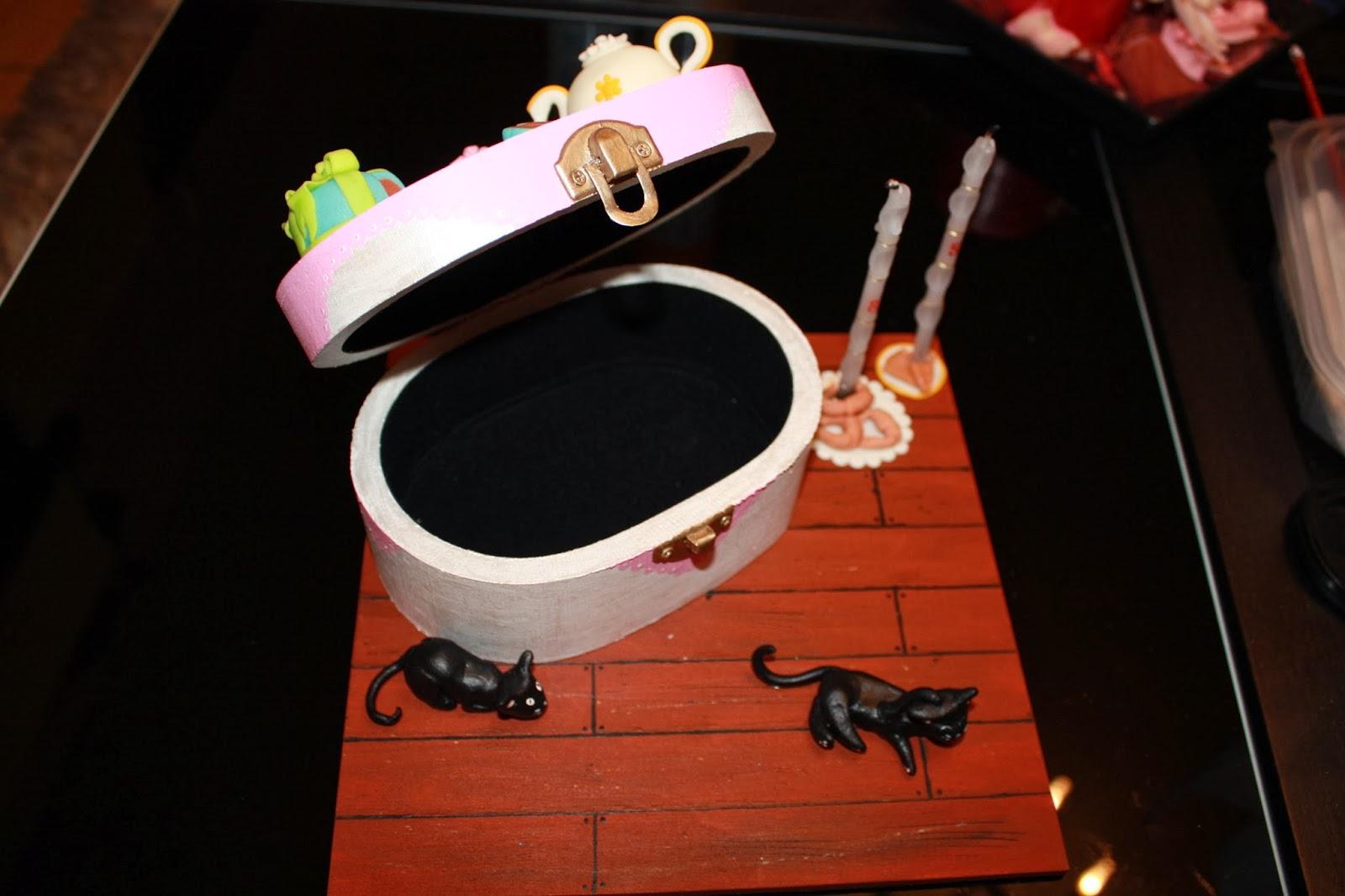 Tea Set Box