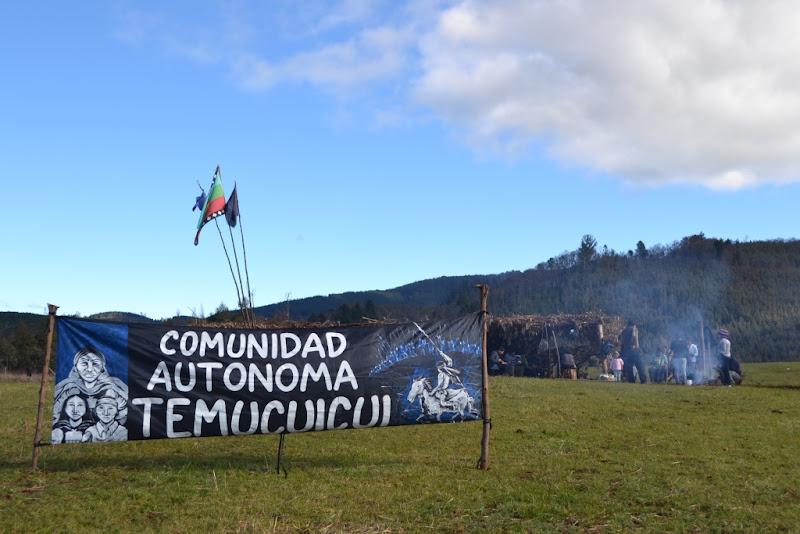 Comunità Mapuche mobilitate in Cile
