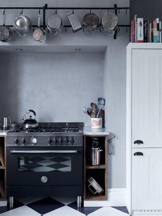 LOVE OR NOT: Industrial kitchens | Image via Mark Lewis Interior Design