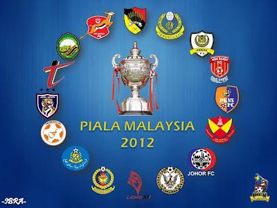 Jadual Penuh Perlawanan Piala Malaysia 2012