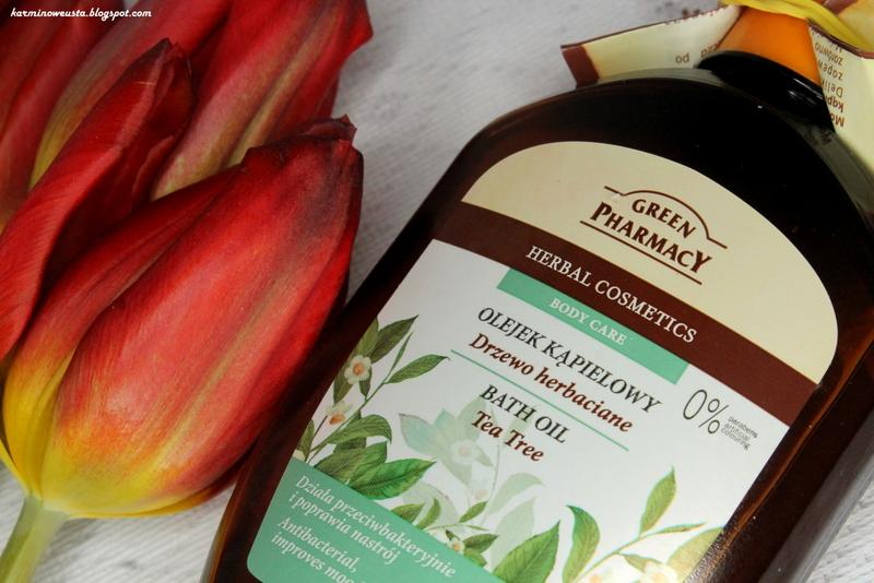 Green Pharmacy olejek kąpielowy drzewo herbaciane