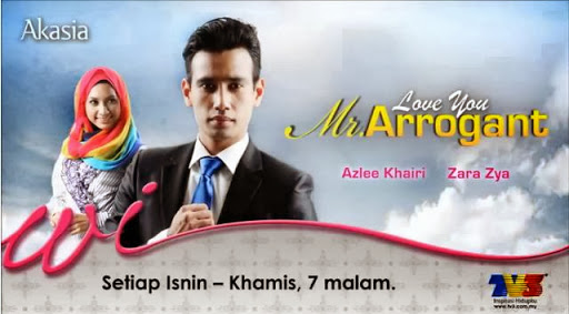 Slot, Akasia, TV3, Drama, Love You Mr. Arrogant