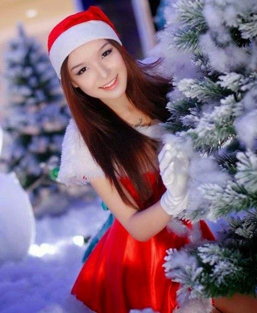 Đón Noel cùng người đẹp