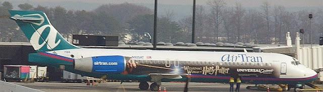 Avião do Harry Potter - Aviões temáticos para fãs