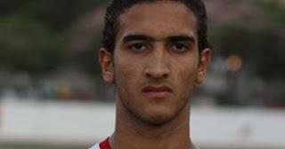 أحمد نبيل مانجا لاعب وسط سموحة