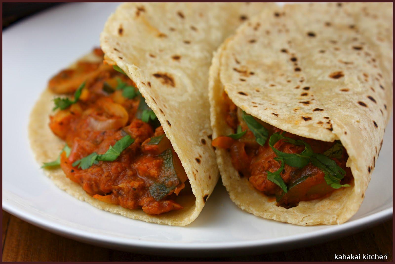 Kahakai Kitchen: Zucchini-Mushroom Tacos with (SoyRizo ...