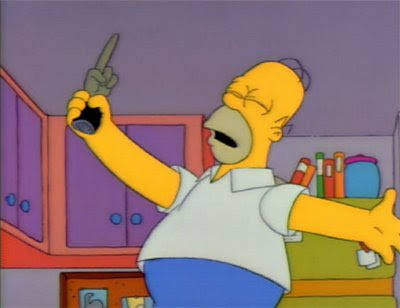 Los Simpson pata de mono