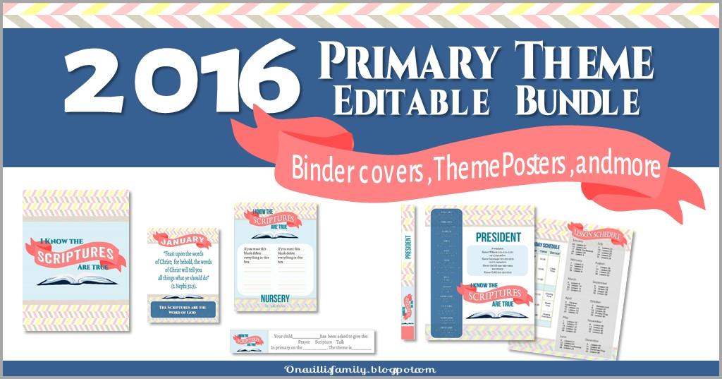 2016 Primary Theme