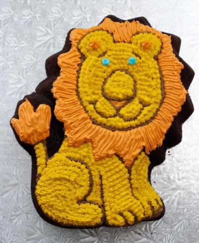 Children S Lion Birthday Cakes Recipes