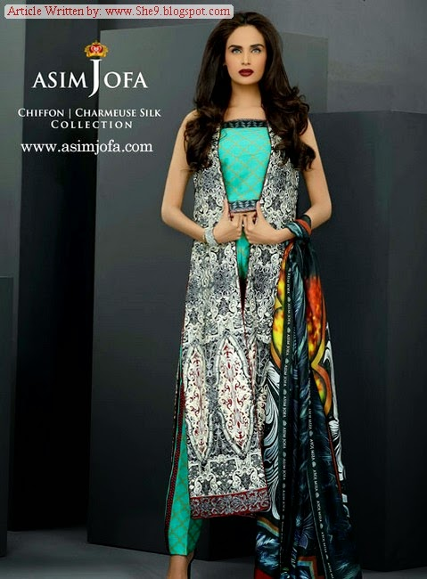 Asim Jofa New Summer Collection 2014