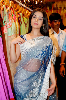 Actress Sidhika Sharma Pictures in Saree at Kalamandir Showroom Launch  0021