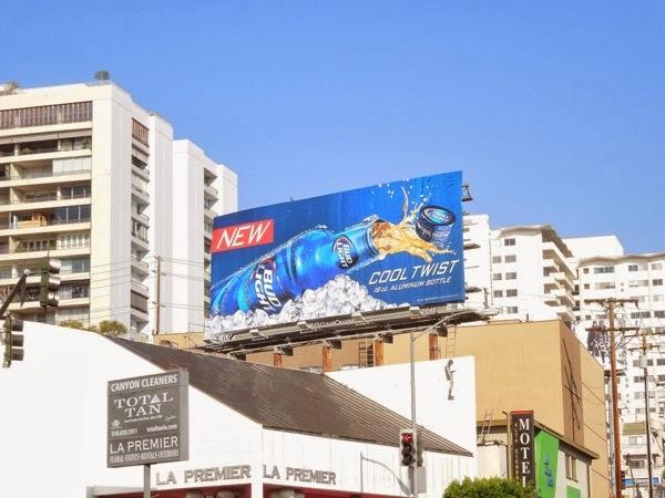 Bud Light Cool Twist billboard